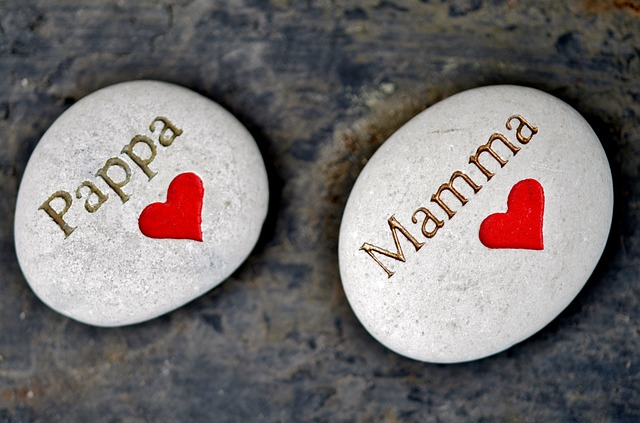 Pedras simbolizando o amor em família | Pixabay.com