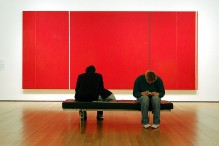 Arte debarnett newman, moma, nyc | foto de YoungDoo M. Carey, Flickr