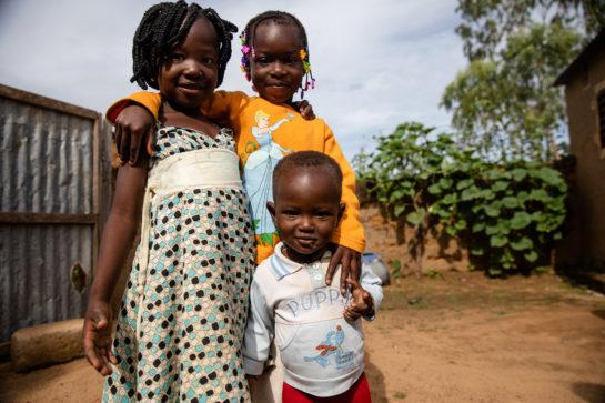 Campagne de prévention de la malaria au Burkina Faso menée par Malaria Consortium.