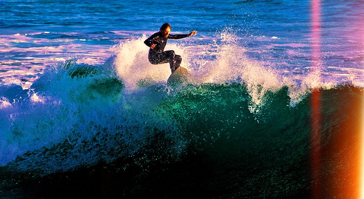 Surfista da onda de boas acções.fx